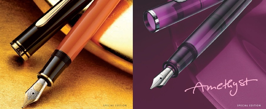 Pelikan New classic and burnt orange
