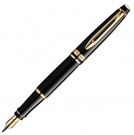 Waterman Expert Mars Black GT Fountain Pen, Fine Nib