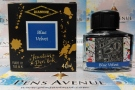 Diamine  Blue Velvet Fountain Pen Ink, 40ml