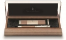 GRAF von FABER CASTELL DESK SET OF PERFECT PENCIL, BROWN