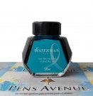 Waterman Ink Bottle, Inspired Blue (Turquoise), 50ml