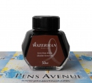 Waterman Ink Bottle, Absolute Brown (Brown), 50ml