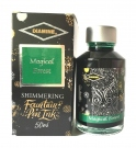 Diamine Fountain Pen Shimmer Ink 50ml, Magical Forest
