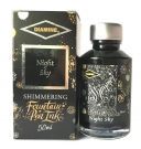 Diamine Fountain Pen Shimmer Ink 50ml, Night Sky