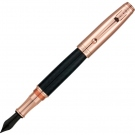 Monteverde Invincia Rose Gold Fountain Pen, Broad Nib