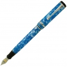 Conklin Duragraph Ice Blue Fountain Pen, Medium Nib