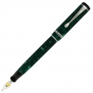 Conklin Duragraph Forest Green Fountain Pen, Fine Nib