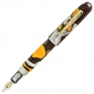 Conklin All American Yellowstone Fountain Pen, Medium Nib