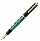 Pelikan Souveran Black Green M800 Fountain Pen, Extra Fine Nib