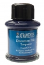 DE-ATRAMENTIS Document Ink, 35ml, Turquoise