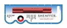 SHEAFFER INK CARTRIDGE, RED