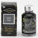 Diamine Fountain Pen Shimmer Ink 50ml, Moon Dust