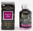Diamine Fountain Pen Shimmer Ink 50ml, Magenta Flash