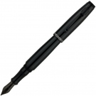 Monteverde Invincia Color Fusion Stealth Black FP, Broad Nib