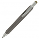Monteverde Tool 60 Ball Pen, Platinum Grey