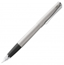 LAMY Studio Brushed Steel Fountain Pen, Medium Nib