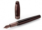 Montegrappa Heartwood Teak Fountain Pen, Medium Nib