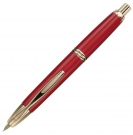 Pilot Vanishing Point Red GT Fountain Pen, Broad