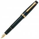 Pilot JUSTUS 95 Black Net GT Fountain Pen, Medium
