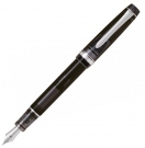 Pilot Custom 92 Transparent Black Fountain Pen, Medium Nib