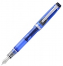 Pilot Custom 92 Transparent Blue Fountain Pen, Fine Nib