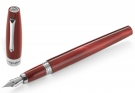 Montegrappa Felicita Red Velvet Fountain Pen, Fine Nib