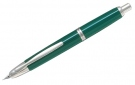 Pilot Vanishing Point Green RT Fountain Pen, Broad Nib