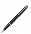 Cross Calais Matt Black Fountain Pen, Medium Nib