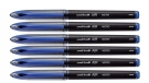 Uniball Air Micro UBA188M, Blue, Set of 6 Pens