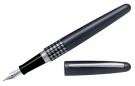 Pilot MR Retro Pop Metallic Grey Fountain Pen, Fine Nib