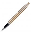 Pilot MR Metropolitan Gold Fountain Pen, Fine Nib