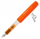 Kaweco ICE Sport Transparent Orange Fountain Pen, Extra Fine Nib