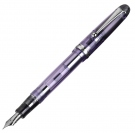 Pilot Custom74 Transparent Violet Fountain Pen, Fine Nib