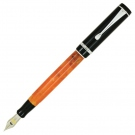 Conklin Duragraph Orange Nights Fountain Pen, Fine Nib