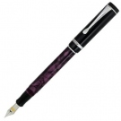 Conklin Duragraph Purple Nights Fountain Pen, Fine Nib