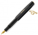 Kaweco Classic Sport Black Fountain Pen, Medium Nib