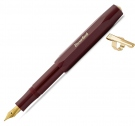 Kaweco Classic Sport Bordeaux Fountain Pen, Broad Nib