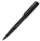LAMY Safari All Black Special Edition 2018 Fountain Pen, Broad Nib