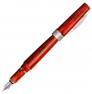 Visconti Mirage Coral Fountain Pen, Broad Nib