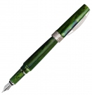 Visconti Mirage Emerald Fountain Pen, Broad Nib