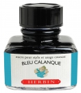 J. Herbin D ink bottle, 30ml, Bleu Calanque