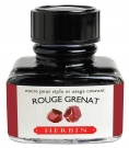 J. Herbin D ink bottle, 30ml, Rouge Grenat