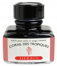 J. Herbin D ink bottle, 30ml, Corail Des Tropique