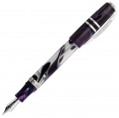 Visconti Homo Sapiens Midnight in Florence Fountain Pen, Medium Nib