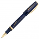 Visconti Medici Golden Blue Roller Ball Pen