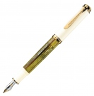 Pelikan Souveran Tortoise White M400 Fountain Pen, Medium Nib