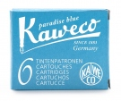 Kaweco Ink Cartridge, Paradise Blue