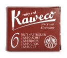 Kaweco Ink Cartridge, Ruby Red