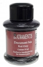 DE-ATRAMENTIS Document Ink, 35ml, Red Grey