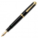 Pelikan Souveran Black M800 Fountain Pen, Medium Nib